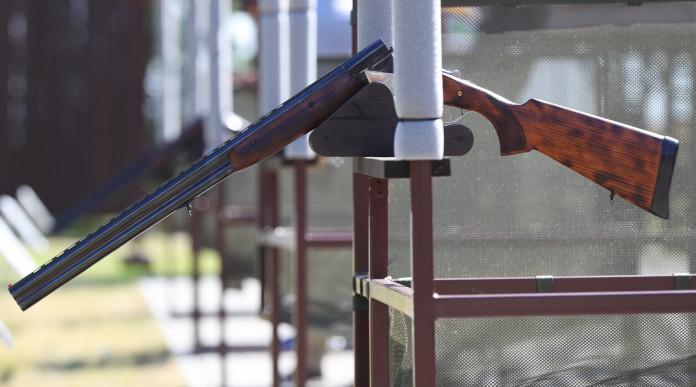 europeo di elica: fucile per tiro a volo in campo di tiro