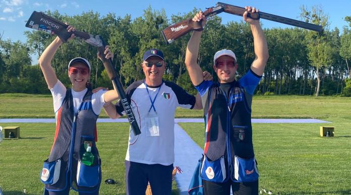 Campionati europei di tiro, altro oro per gli azzurri
