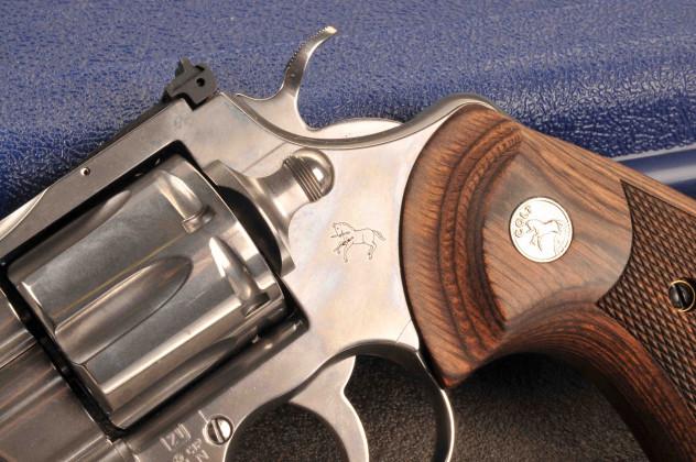 "Colt Python 4""¼ 2"