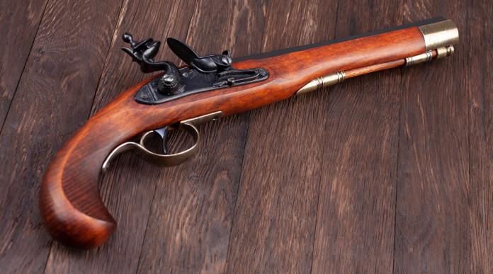 detenzione di armi antiche ad avancarica: pistola ad avancarica