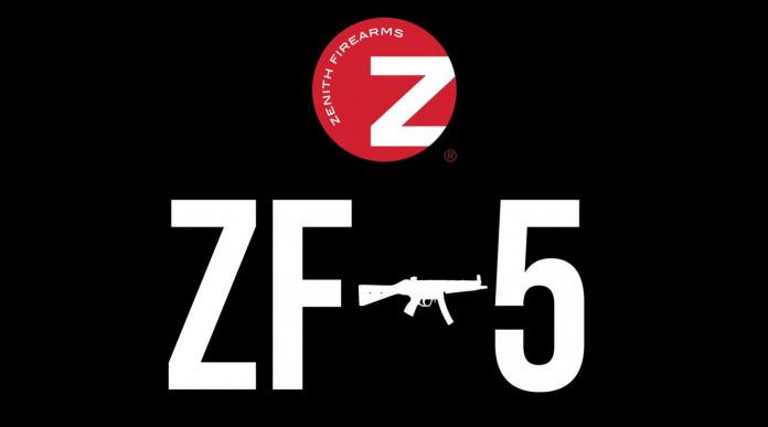 Zenith ZF-5, annunciata per l'autunno la nuova pistola mitragliatrice