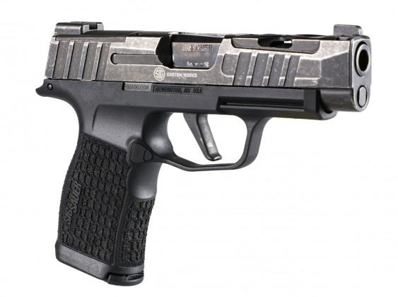 lato destro della della pistola Sig Custom P365XL Spectre