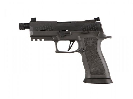 lato sinistro della pistola striker fired sig sauer P320 XCarry Legion