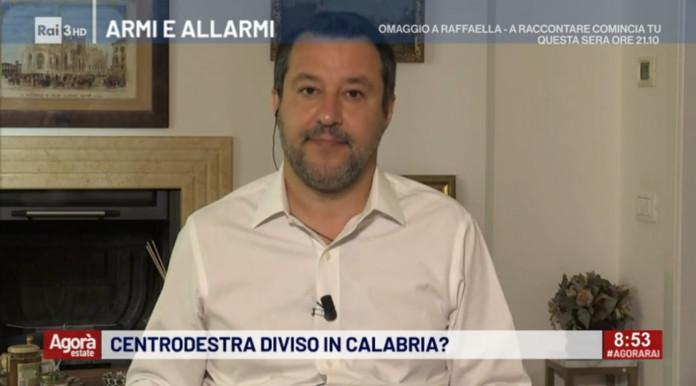 Porto d'armi, le parole di Salvini sulla Rai