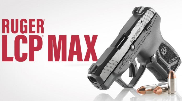 Ruger Lcp Max, la pistola ultracompatta si rinnova
