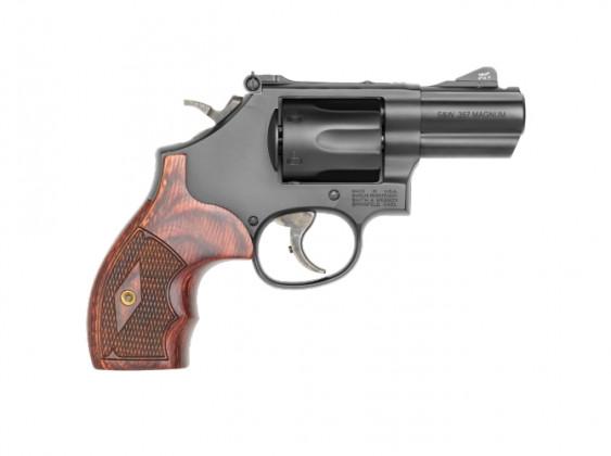 fianco destro del revolver Smith & Wesson Model 19 Carry Comp
