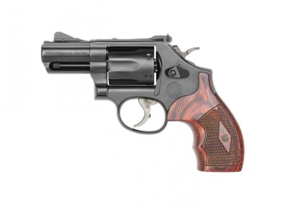 lato sinistro del revolver per il porto occulto Smith & Wesson Model 19 Carry Comp