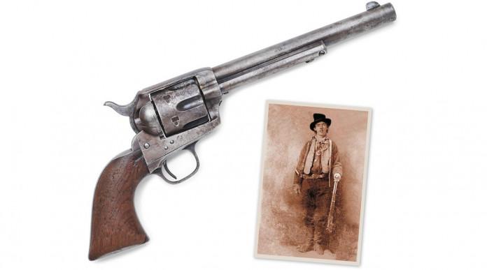 All'asta il revolver che uccise Billy the Kid