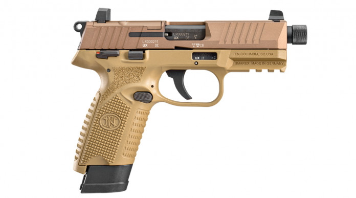 FN 502 Tactical, la pistola .22 LR optic ready