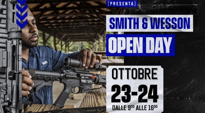 Provare le armi Smith & Wesson a ottobre, ecco dove e come