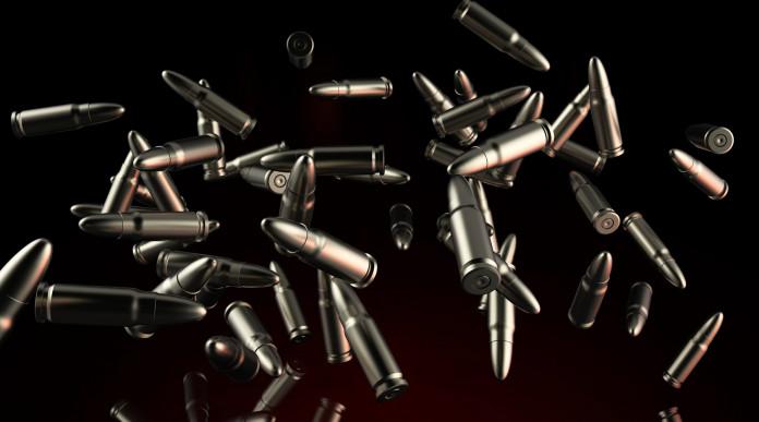 corsi di conarmi: illustrazione di proiettili in volo