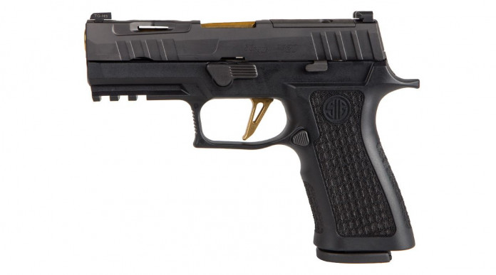 Sig Custom Spectre P320 XCarry Spectre, nuova pistola compatta custom
